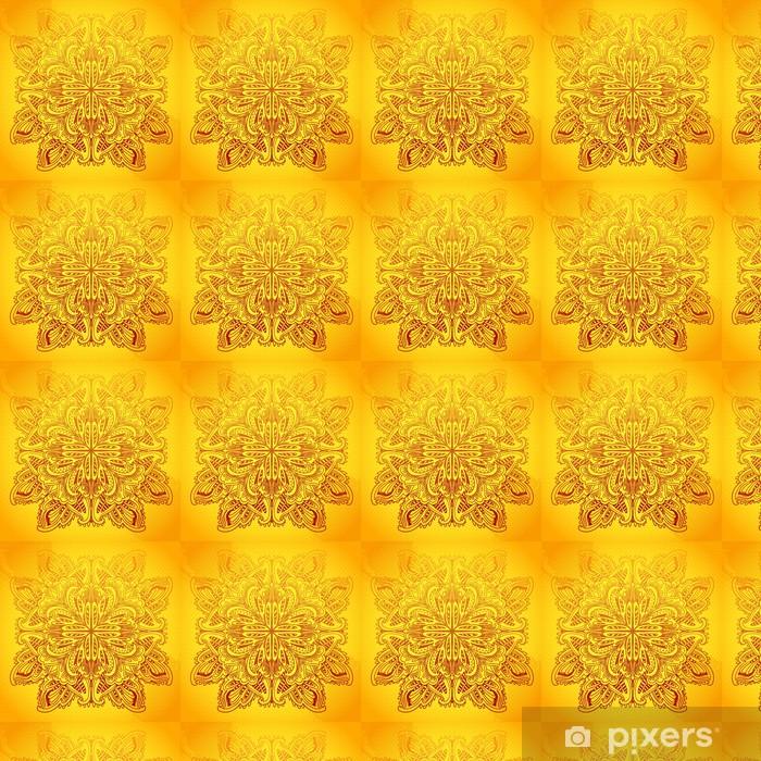 Tapeta na wymiar winylowa Ozdobne koronki okrągły wzór - Abstrakcja
