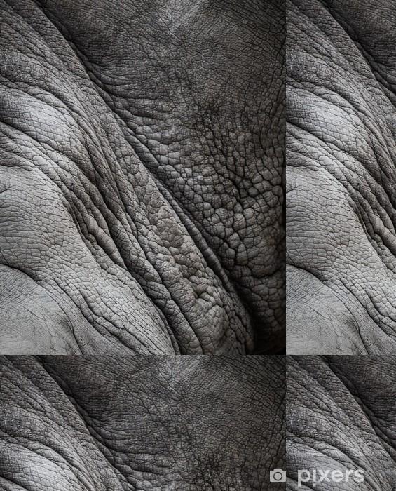 Vinylová Tapeta Rhinoceros textury kůže - Struktury