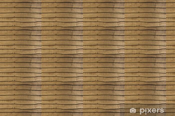 Papier peint vinyle sur mesure Clôtures de jardin en bois - Industrie lourde