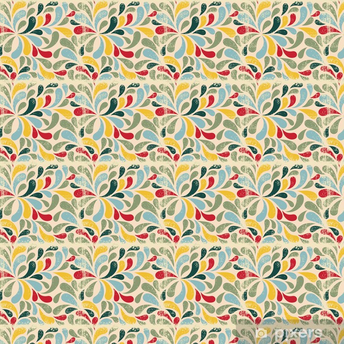 Vinylová tapeta na míru Barevné abstraktní bezešvé vzor - Pozadí