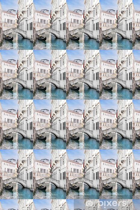 Tapeta na wymiar winylowa Venice kanał z gondoli, Włochy - Miasta europejskie