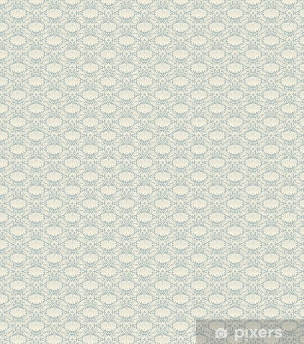 seamless vintage flower pattern background vector Vinyl custom-made wallpaper - Styles