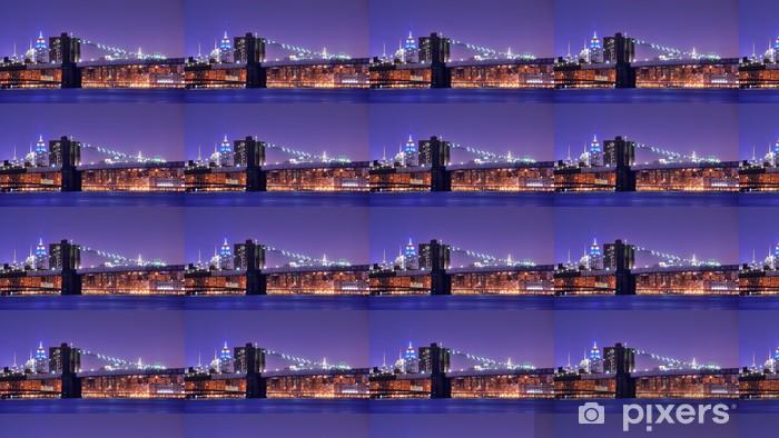 Vinyl behang, op maat gemaakt Brooklynbridge - Brooklyn Bridge