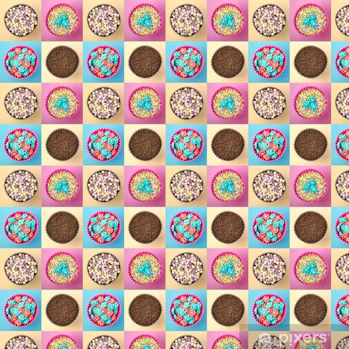 Papier peint vinyle sur mesure Décoration Cupcake - Célébrations