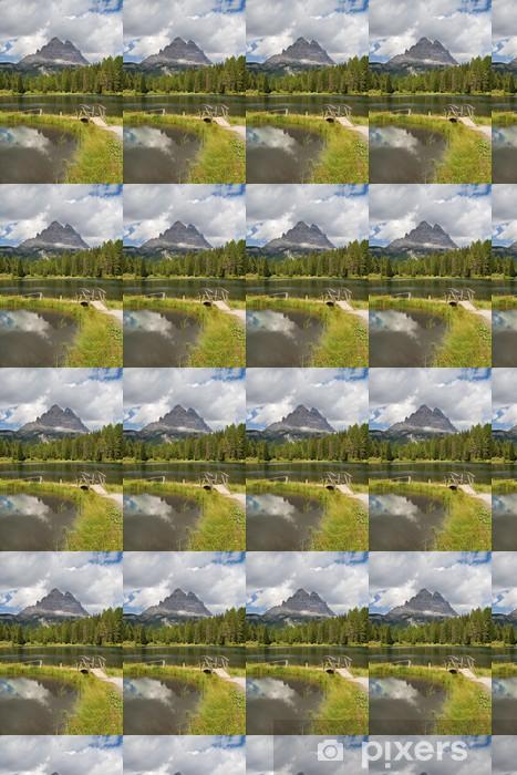 Vinylová tapeta na míru Antorno jezero a Three Peaks - Evropa