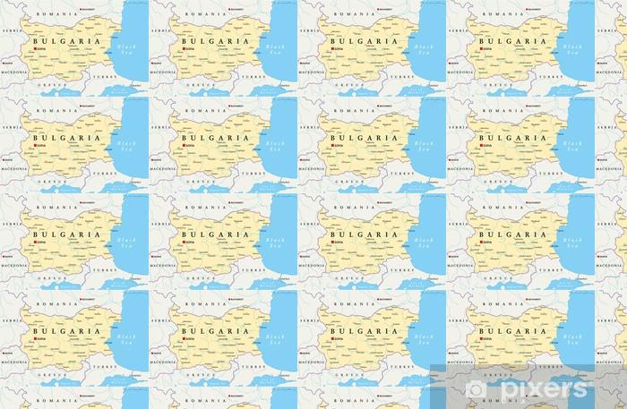 Tapeta Bulgaria Map Mapa Bulgarii Pixers Zyjemy By Zmieniac
