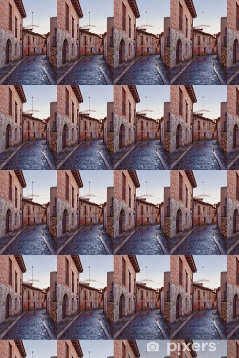 Vinylová tapeta na míru Simancas Street - Památky