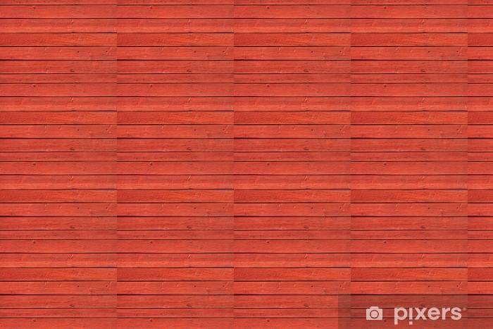 Vinylová tapeta na míru Staré červené dřevěné panely - Evropa