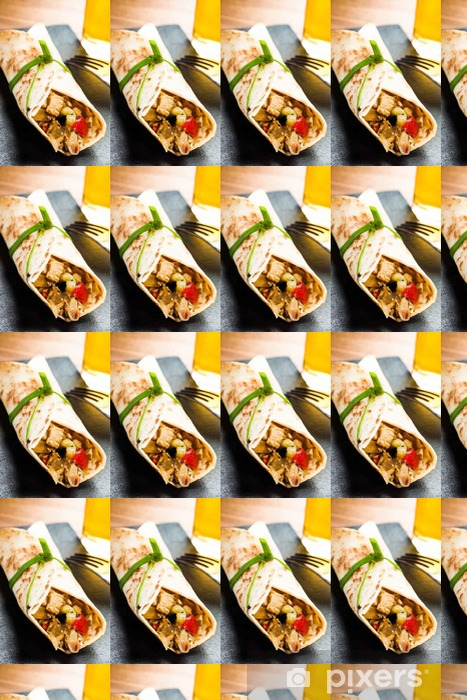 Tapeta na wymiar winylowa Burrito - Jedzenie