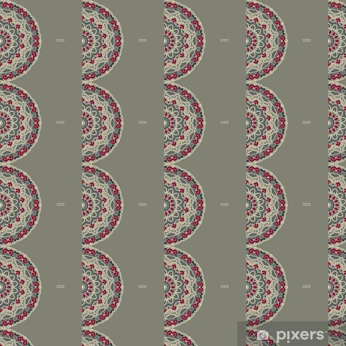 Vector Round Decorative Design Element Vinyl custom-made wallpaper - Backgrounds