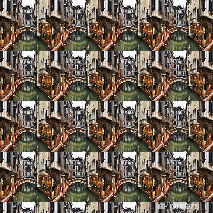 Vinyl behang, op maat gemaakt Venetië, Italië, bij zonsondergang - Thema's