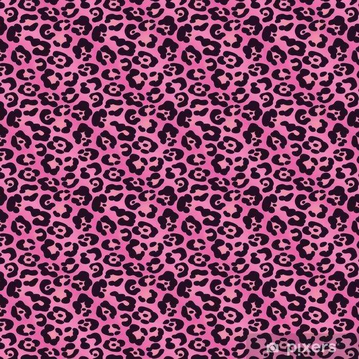Tapeta na wymiar winylowa Różowy Jaguar Spotted Tło - Tła