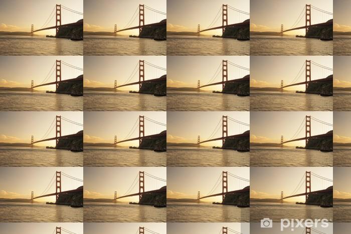 Tapeta na wymiar winylowa Golden Gate Bridge, San Francisco, Kalifornia - Miasta amerykańskie