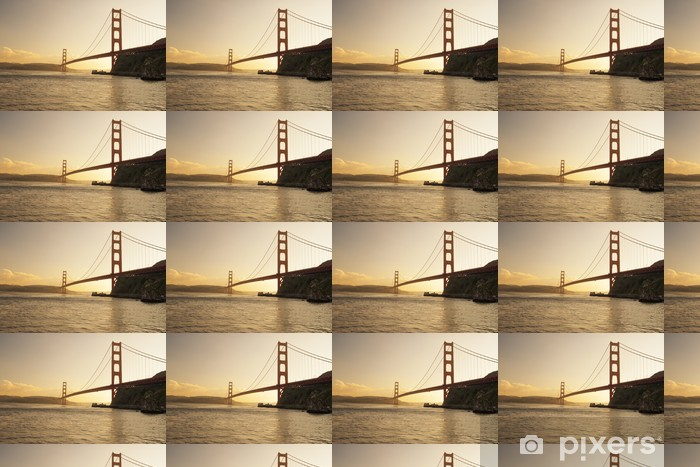 Golden Gate Bridge, San Francisco, California Vinyl custom-made wallpaper - American Cities