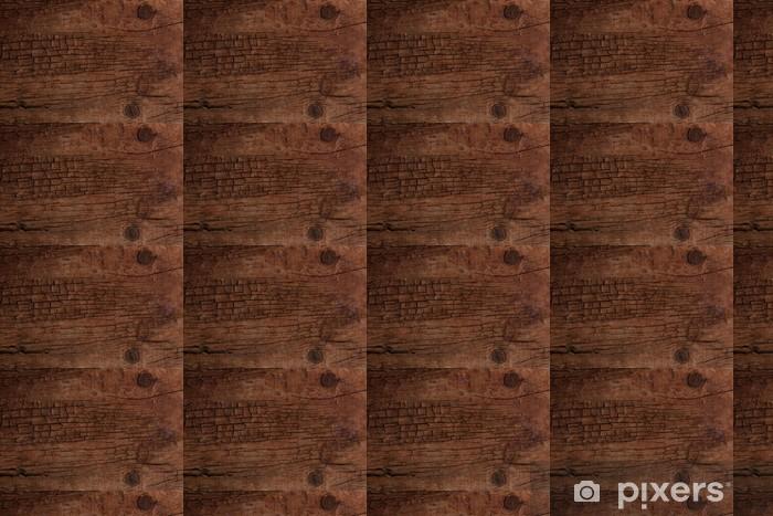 Papier peint vinyle sur mesure Vieux fond de surface en bois fissuré - Textures
