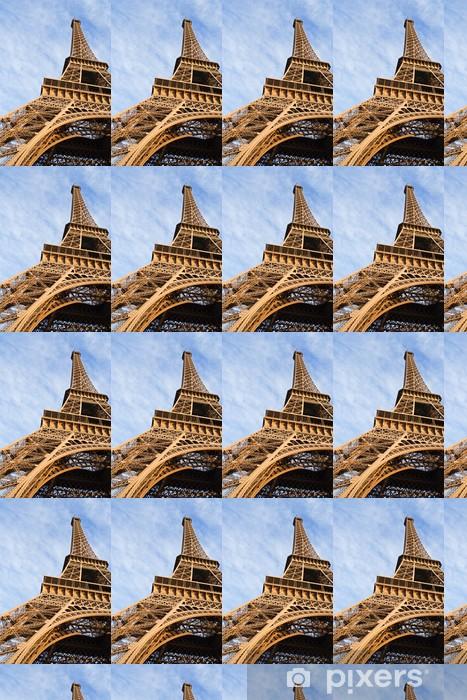 Papier peint vinyle sur mesure La tour eiffel - Villes européennes