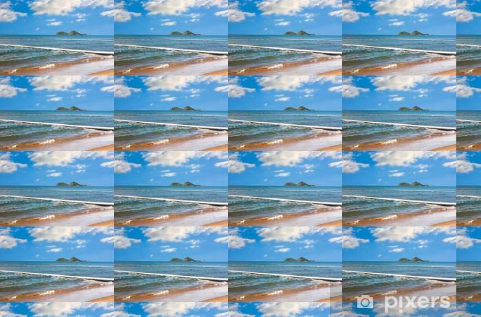 Vinylová tapeta na míru Palm Cove kousavá net skříň - Příroda a divočina