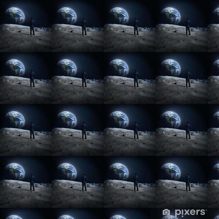 Carta da parati in vinile su misura Terra di luna Alien - Lo Spazio