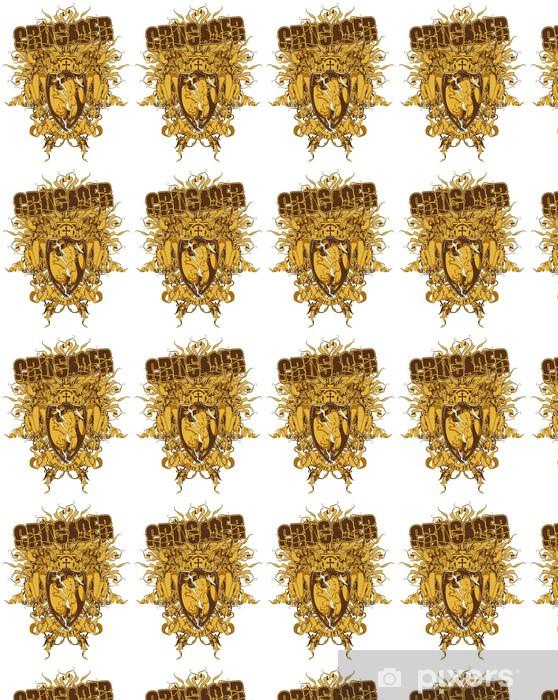 Tapeta na wymiar winylowa Krzyżowiec - Znaki i symbole