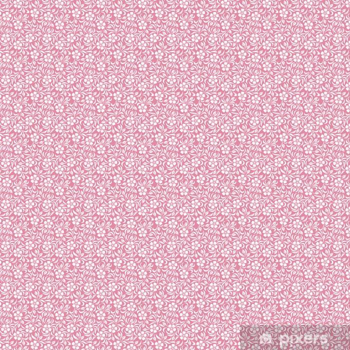 Tapeta na wymiar winylowa Powtarzalny kwiatowy wzór. ilustracji wektorowych. - Tekstury
