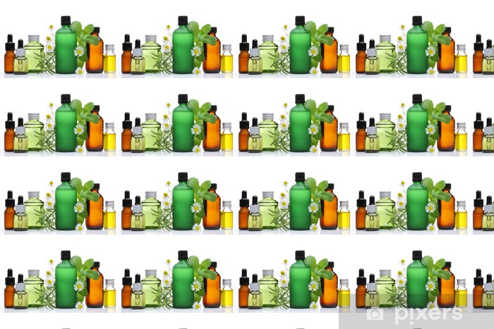 Carta da parati in vinile su misura Olio essenziale - Bellezza e Cura del corpo