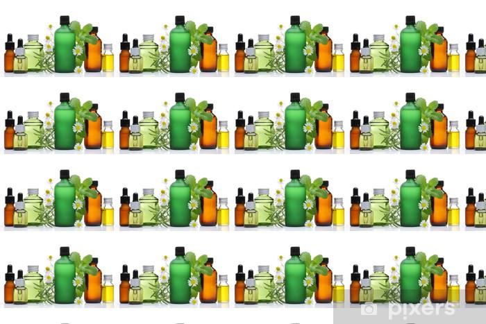 Vinyltapete nach Maß Ätherische Öle - Beauty und Körperpflege