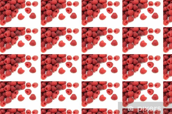 Vinyltapete nach Maß Himbeere Früchte - Himbeeren
