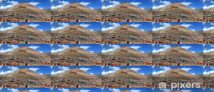 Papier peint vinyle sur mesure Potosi et la Bolivie - Amérique