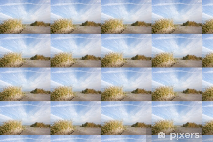 Papier peint vinyle sur mesure Dunes et oyats - Europe
