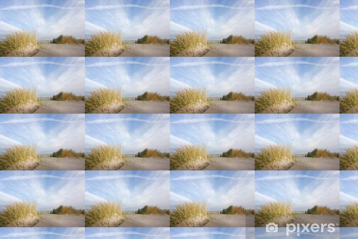 Vinyltapete nach Maß Dünen und Strandhafer - Europa