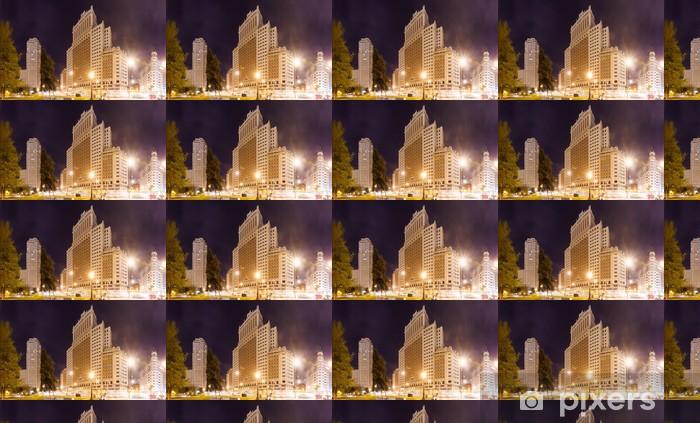 Vinylová tapeta na míru Panoramatický výhled na Španělsko náměstí v Madridu - Evropská města