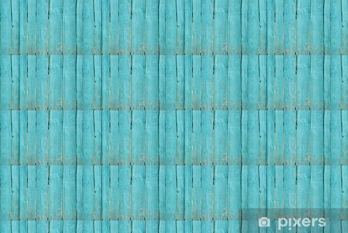 Papier peint vinyle sur mesure Clôture en bois minable - Textures