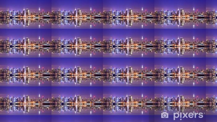 Tapeta na wymiar winylowa Manhattan skyline z odbicia -