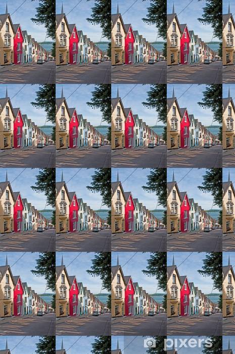 Tapeta na wymiar winylowa Cobh domy - Dom i ogród