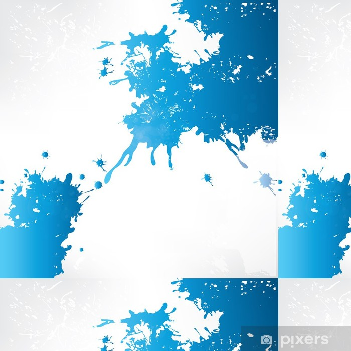 Abstract background with splash Vinyl Wallpaper - Themes