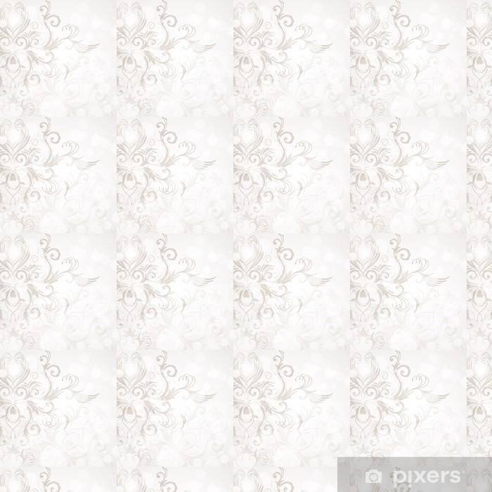 Vinylová tapeta na míru Abstraktní květinové pozadí - Pozadí