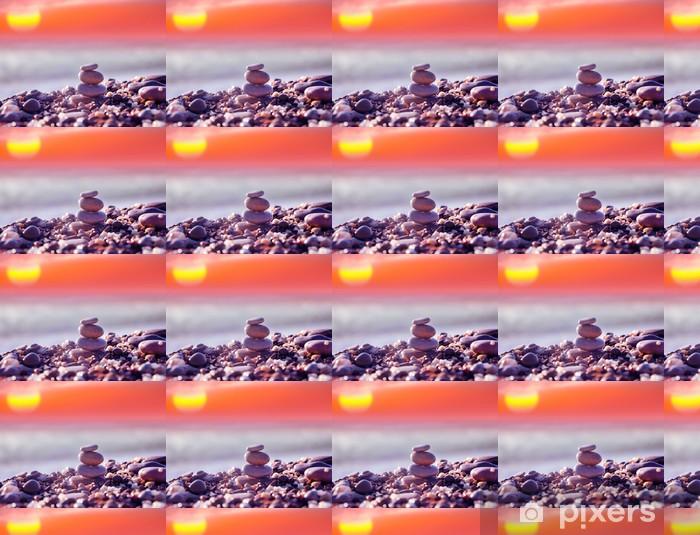 Vinylová tapeta na míru Kameny na pláži - Témata