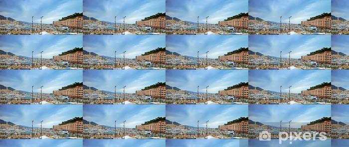 Tapeta na wymiar winylowa Monako Montecarlo marina port panorama. Lazurowe wybrzeże. Francja - Europa
