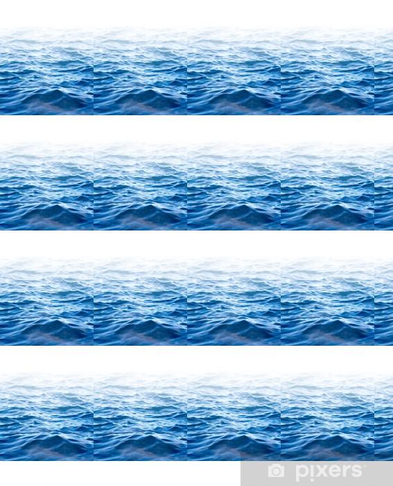 Vinyl behang, op maat gemaakt Het wateroppervlak, abstracte achtergrond met een tekstveld - Natuur