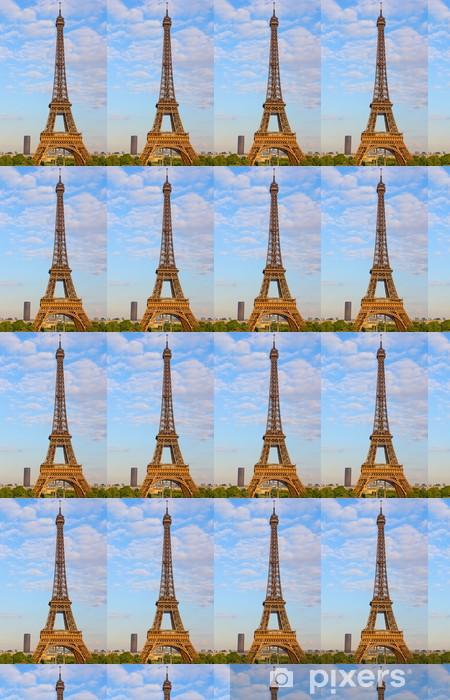 Papier peint vinyle sur mesure Eiffel tower - Villes européennes