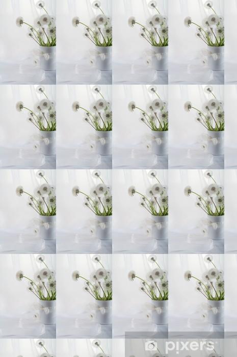 Vinyl behang, op maat gemaakt Dandelions - Bloemen