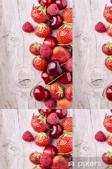 Vinylová Tapeta Červené ovoce - Témata