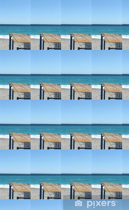 Papier peint vinyle sur mesure Méditerranée en face de la Ligurie, Italie - Vacances