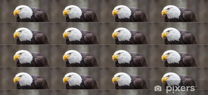 Carta da parati in vinile su misura Majestic Bald Eagle - Temi