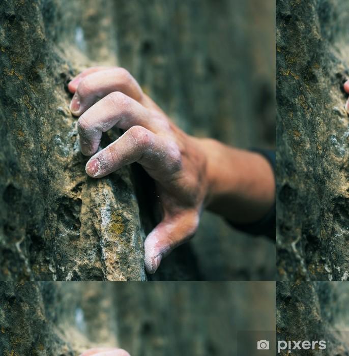 Vinil Duvar Kağıdı Tırmanma eli - Eğlence