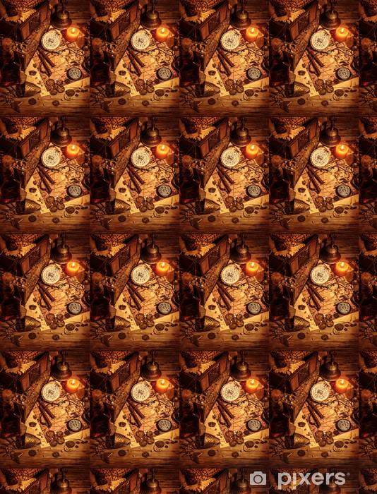 Tapeta na wymiar winylowa Piraci skarb martwa natura - Moda