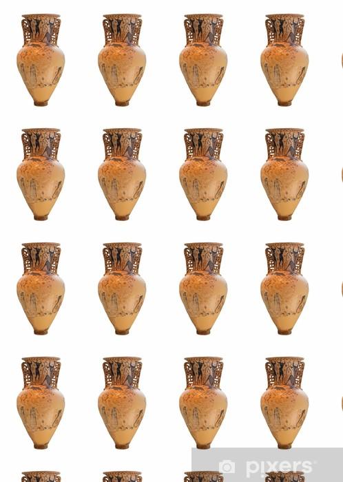 Papier peint vinyle sur mesure Amphora montre l'aveuglement de Polyphème par Ulysse - Bâtiments publics