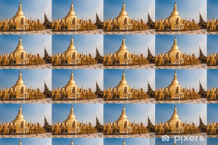 Papier peint vinyle sur mesure Pagode Shwedagon, Yangon, Birmanie - Asie