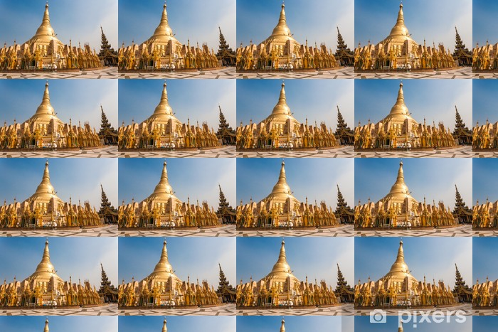 Vinyltapete nach Maß Shwedagon Pagode, Yangon, Burma - Asien