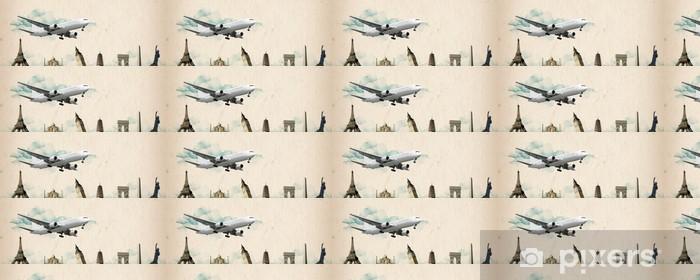 Tapeta na wymiar winylowa Świat podróży - samolot - Sytuacje biznesowe